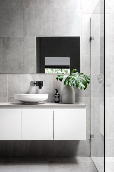 Minimalist bathroom design ideas 43