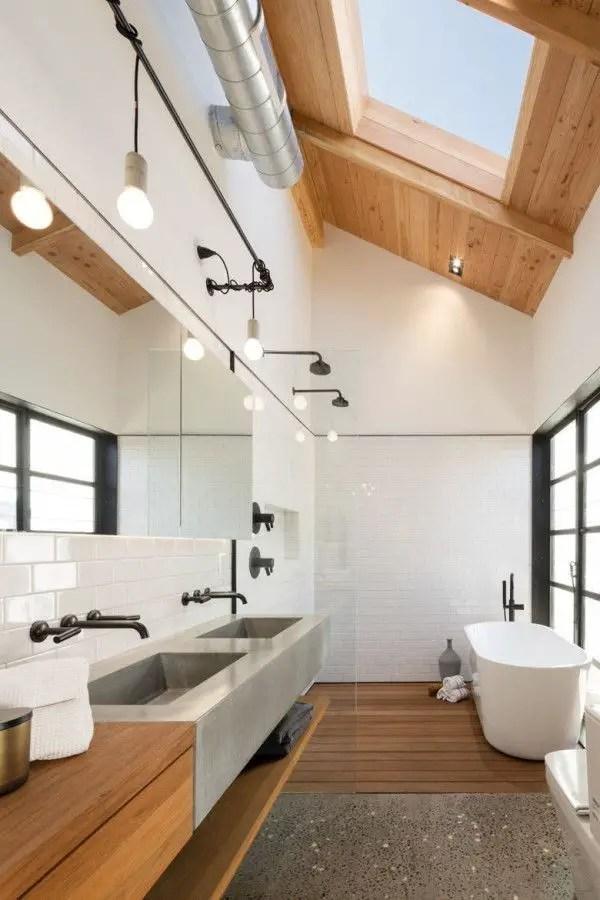 Minimalist bathroom design ideas 44