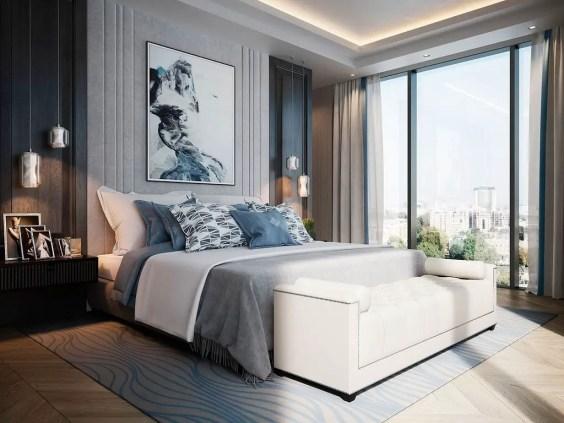 Modern minimalist bedroom design ideas 19