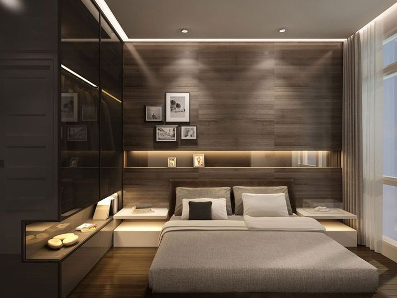 Modern minimalist bedroom design ideas 41