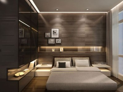 Modern minimalist bedroom design ideas 41