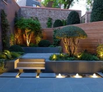 Modern&minimalist frontyard desgin ideas 09