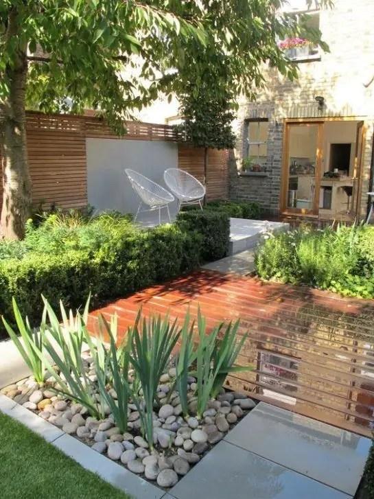 Modern&minimalist frontyard desgin ideas 13