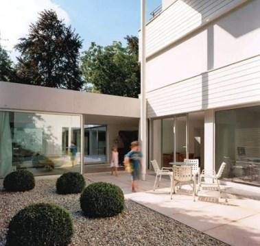 Modern&minimalist frontyard desgin ideas 23