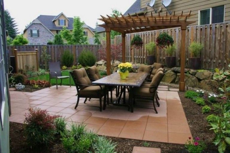 Modern&minimalist frontyard desgin ideas 24