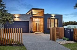 Modern&minimalist frontyard desgin ideas 34