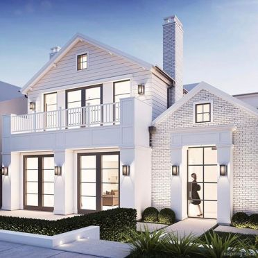 Simple exterior design ideas 17