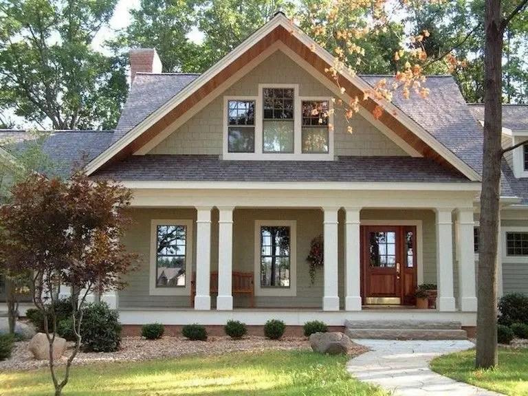 Simple exterior design ideas 30