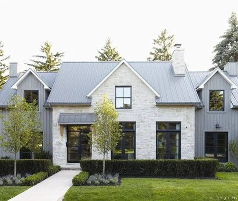 Simple exterior design ideas 34