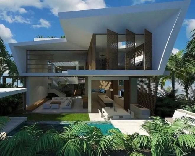Simple exterior design ideas 44