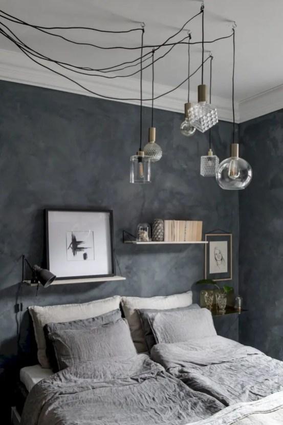 Wall bedroom design ideas that unique 40
