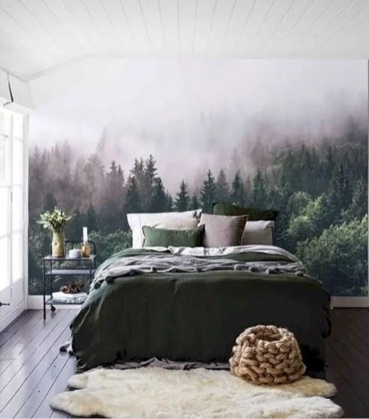 Wall bedroom design ideas that unique 45