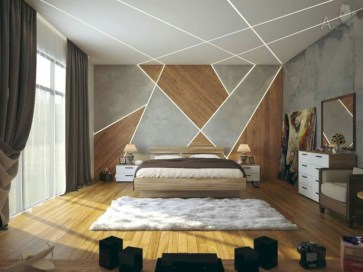 Wall bedroom design ideas that unique 50