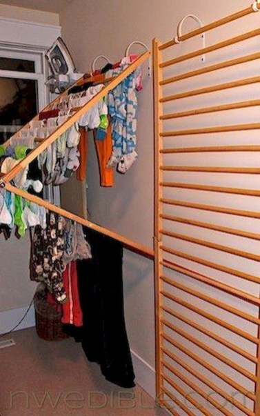 Diy drying place design ideas 33