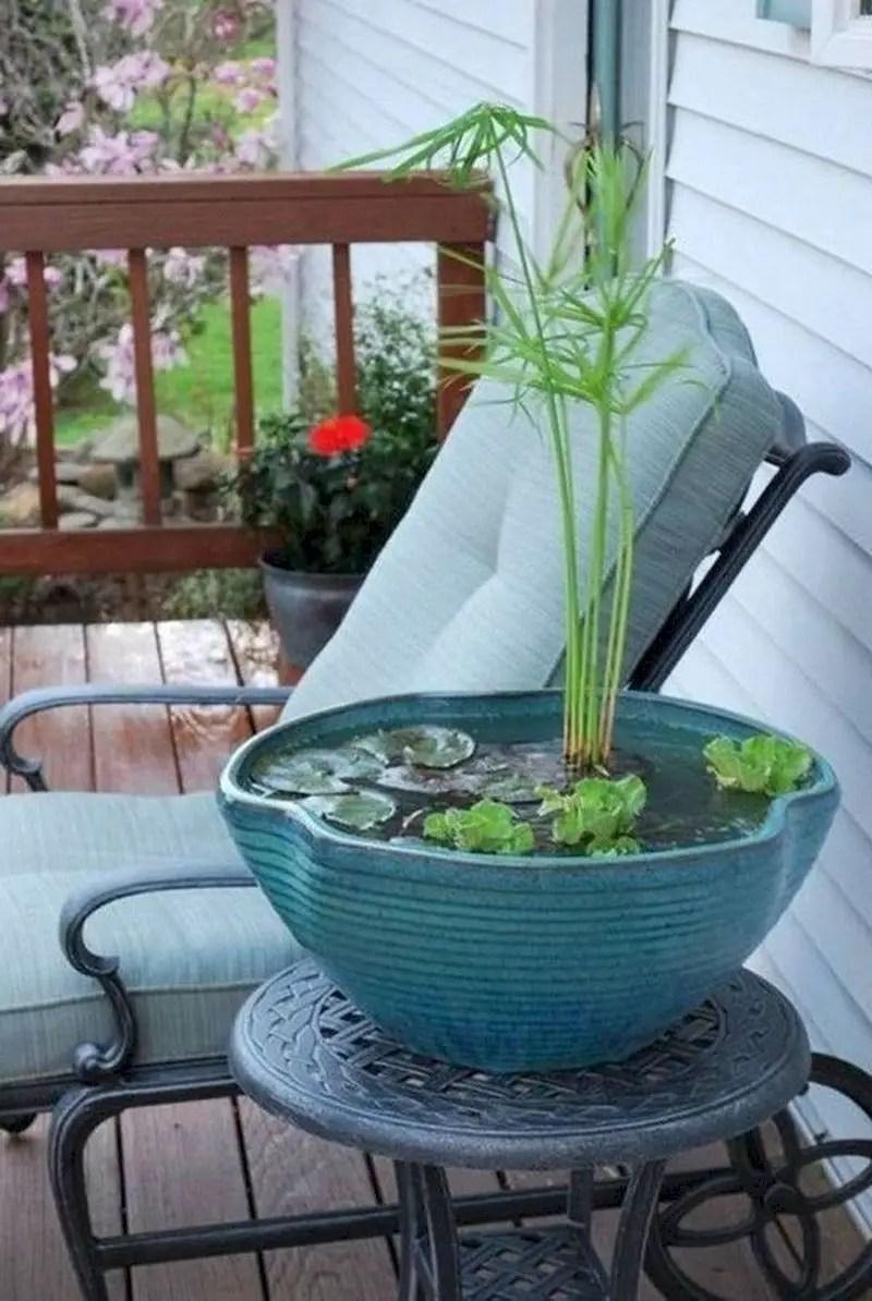 Indoor water garden ideas that fresh your room 08