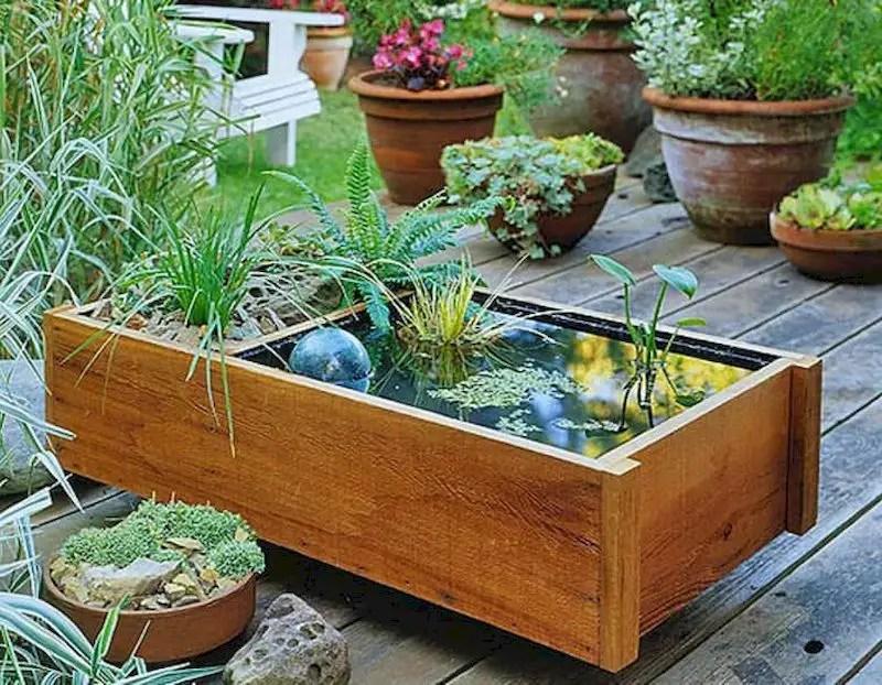 Indoor water garden ideas that fresh your room 17