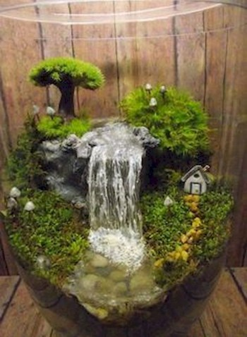 Indoor water garden ideas that fresh your room 18