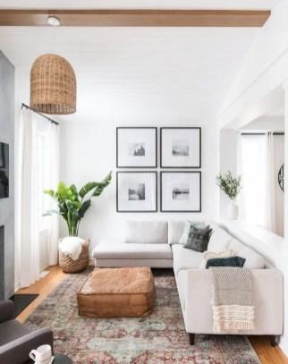 Inspiring living room wall design ideas 18