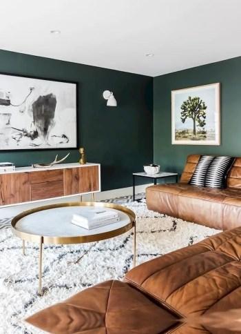 Inspiring living room wall design ideas 21