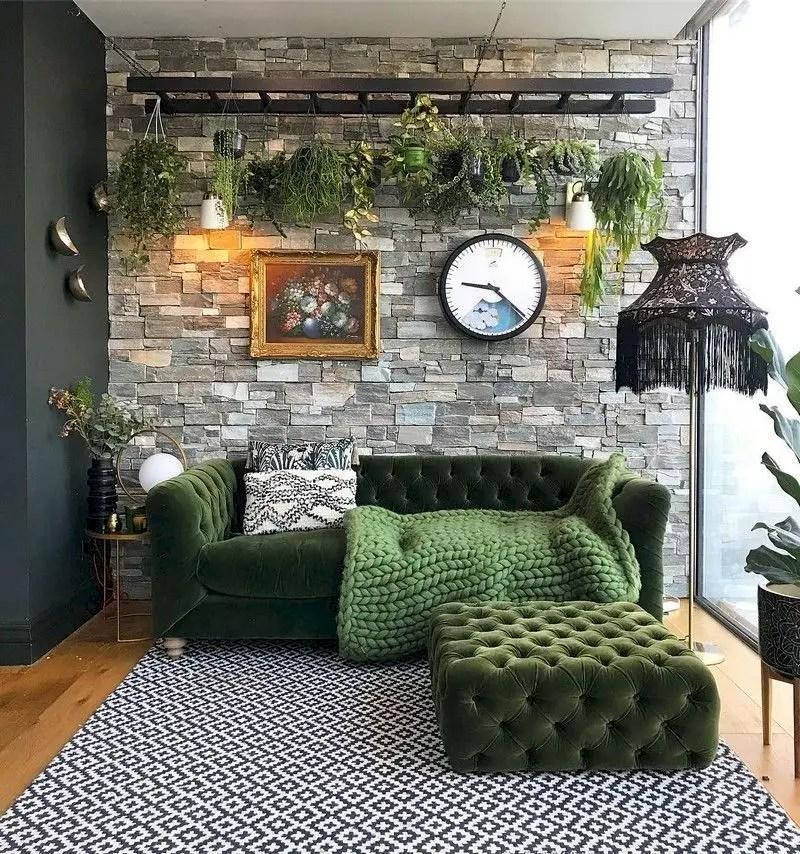 Inspiring living room wall design ideas 29