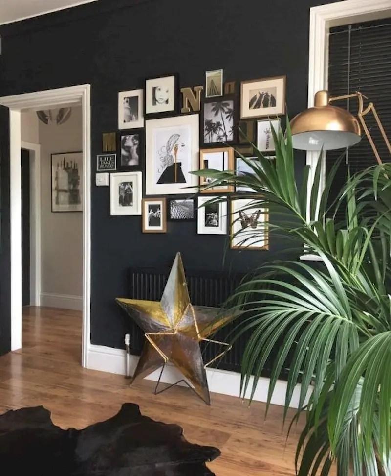 Inspiring living room wall design ideas 34