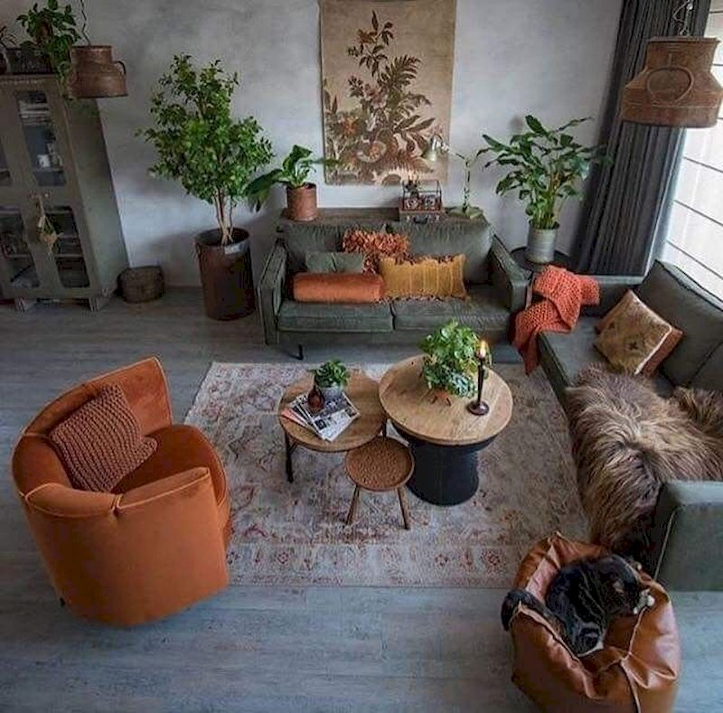 Inspiring living room wall design ideas 44