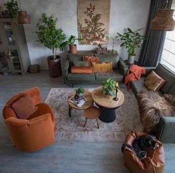 Inspiring living room wall design ideas 44
