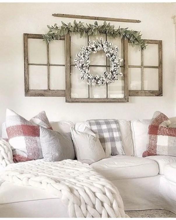Inspiring living room wall design ideas 47