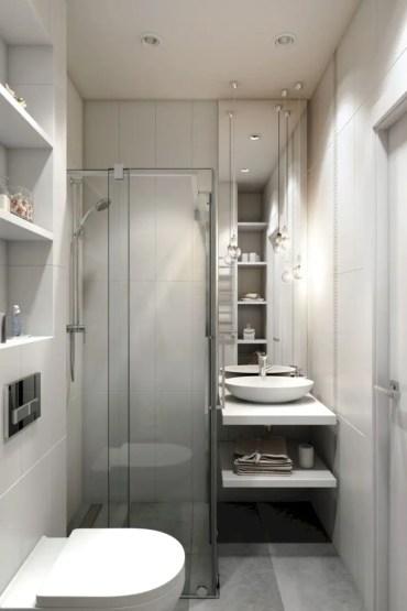 Inspiring small bathroom design ideas in apartment 10