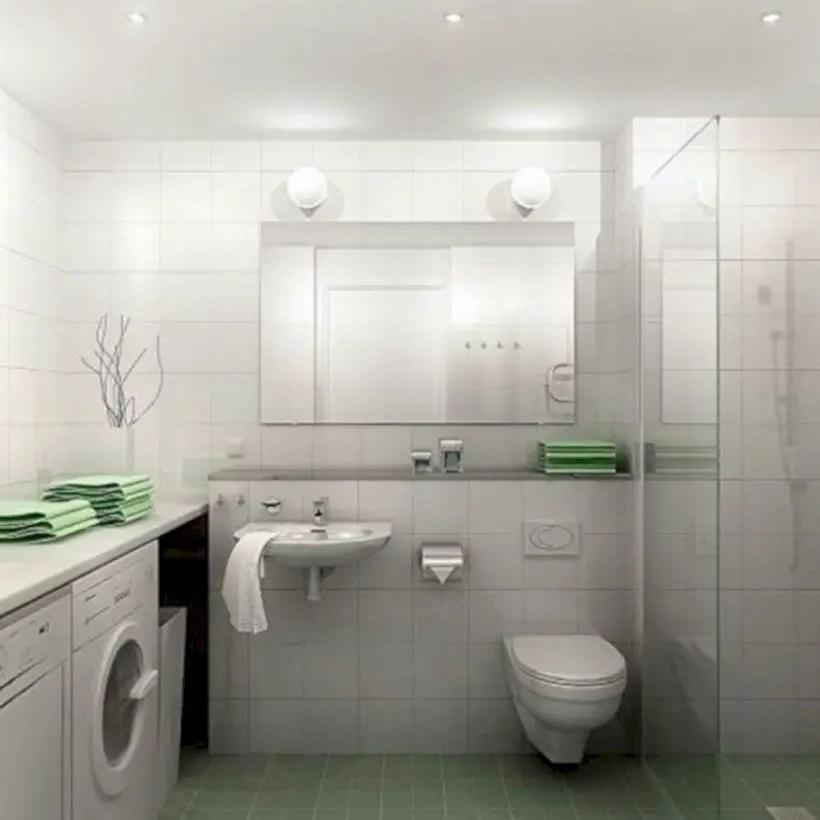 Inspiring small bathroom design ideas in apartment 15
