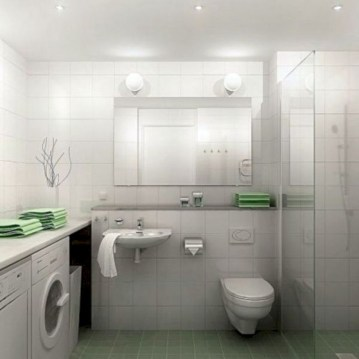 Inspiring small bathroom design ideas in apartment 15