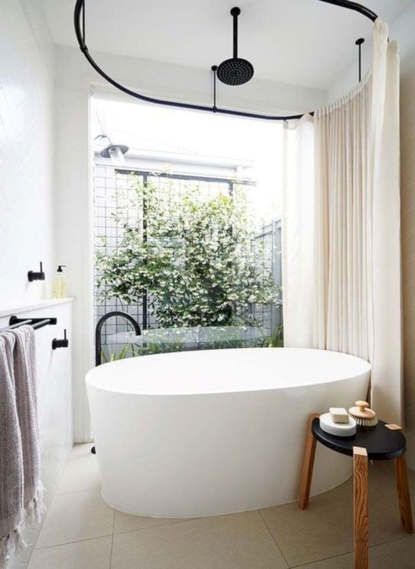 Inspiring small bathroom design ideas in apartment 30