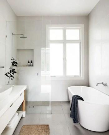 Inspiring small bathroom design ideas in apartment 33