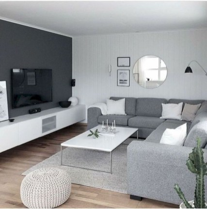 Livingroom design ideas to make look confortable for guest 04