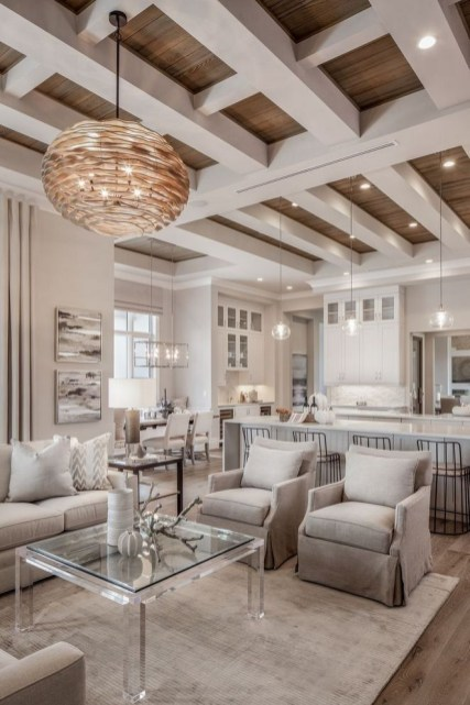 Livingroom design ideas to make look confortable for guest 12