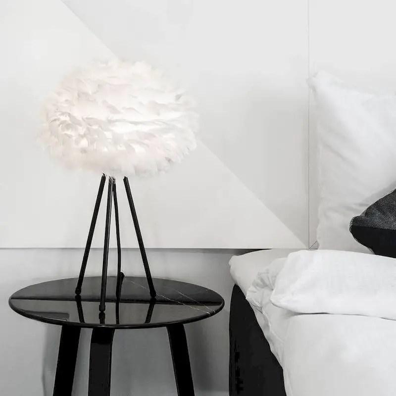 Luxury bedroom design ideas with goose feather 05