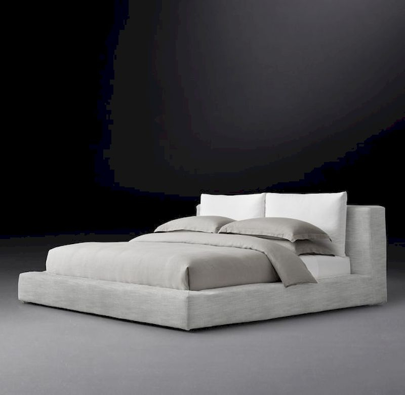 Luxury bedroom design ideas with goose feather 09