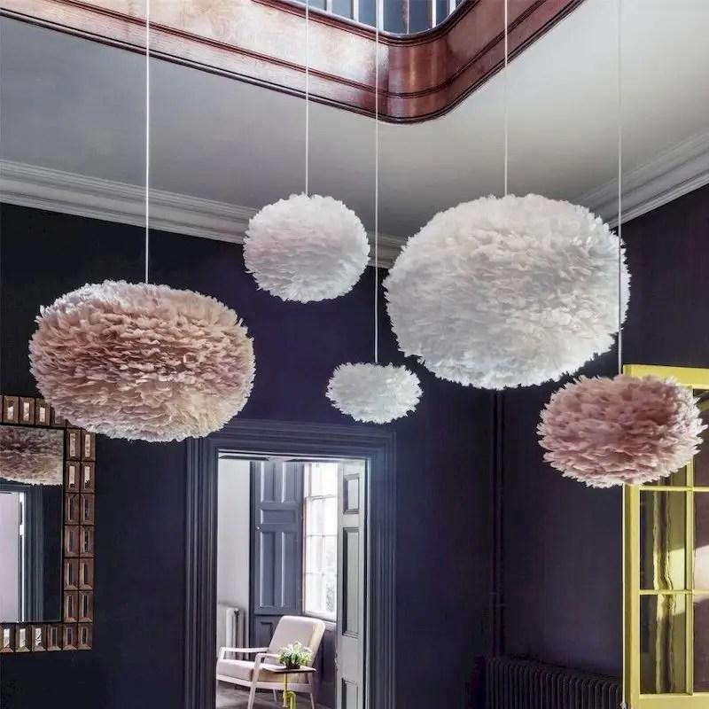 Luxury bedroom design ideas with goose feather 11