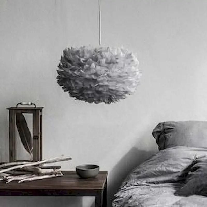 Luxury bedroom design ideas with goose feather 47