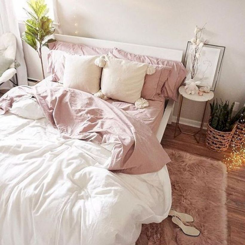 Romantic bedroom decorating ideas in your apartment 39