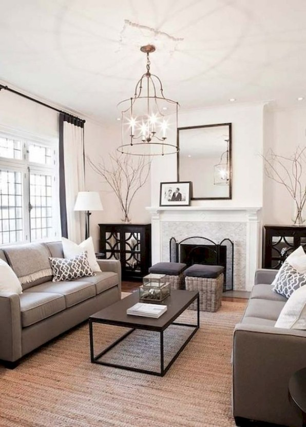Spring living room design ideas that you can copy right now 09
