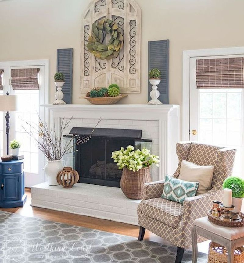 Spring living room design ideas that you can copy right now 12