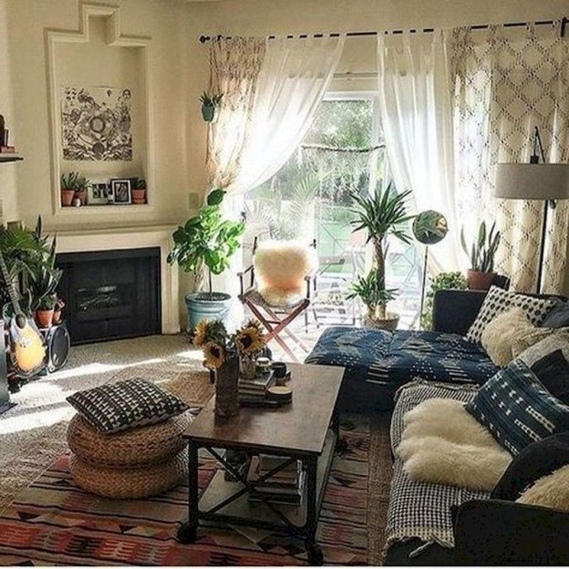Spring living room design ideas that you can copy right now 19