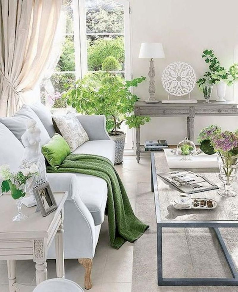 Spring living room design ideas that you can copy right now 29