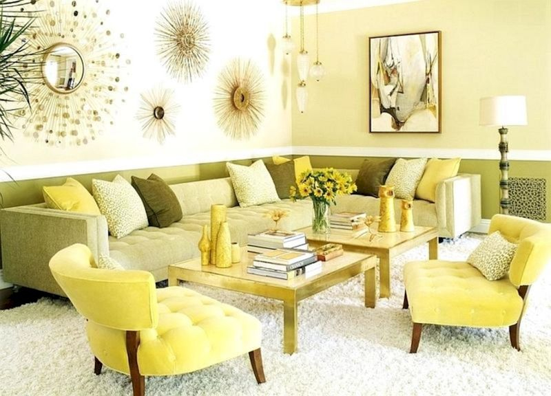 Spring living room design ideas that you can copy right now 30