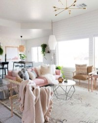 Spring living room design ideas that you can copy right now 32