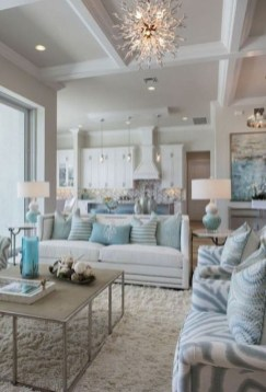 Spring living room design ideas that you can copy right now 34