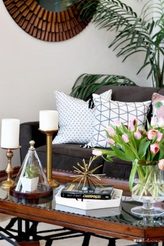 Spring living room design ideas that you can copy right now 35