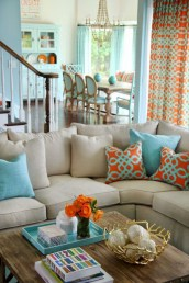 Spring living room design ideas that you can copy right now 38