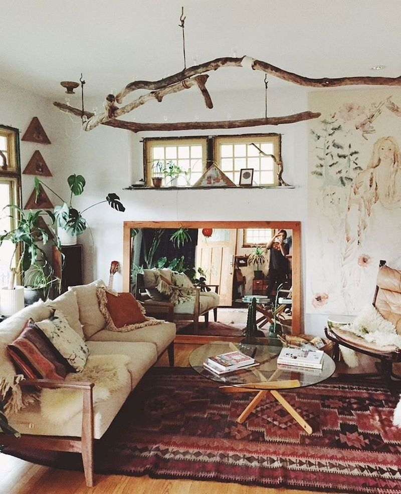 Spring living room design ideas that you can copy right now 46